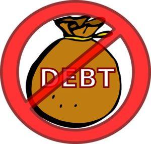 eliminate debt by filing for bankruptcy